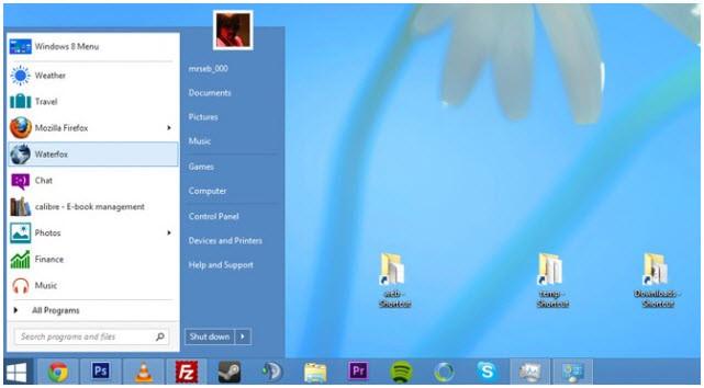 Afinstallere programmeur i windows 8