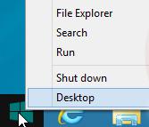 Windows 8.1 Startknop