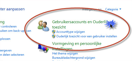 Gebruikersaccount aanmaken