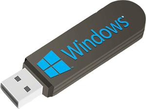 Windows 10 USB stick