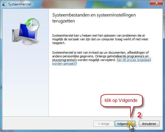 Systeemherstel_gebruiken_1