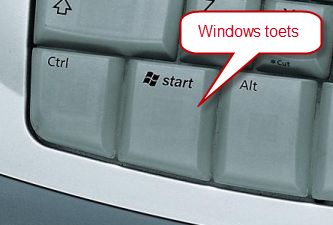 sneltoetsen windows 7