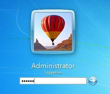 wachtwoord vergeten windows