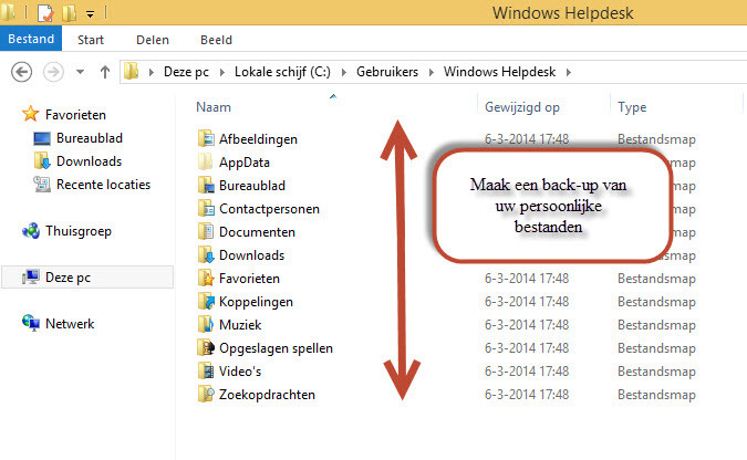 Windows installatie tips