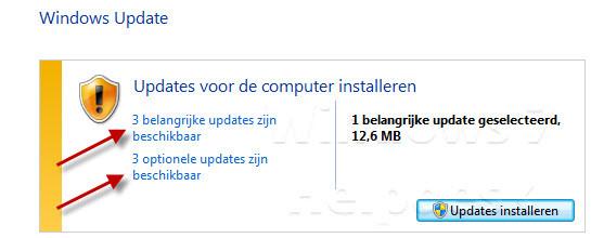 updates installeren