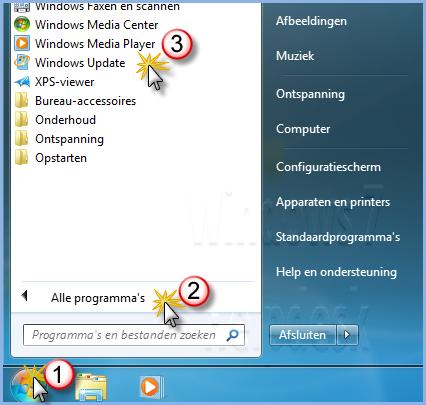 Windows op updates controleren