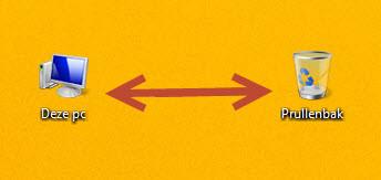 pictogrammen afstand aanpassen