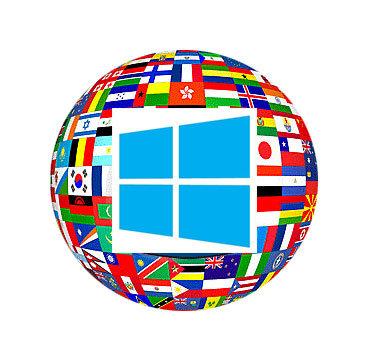 Windows Nederlands maken