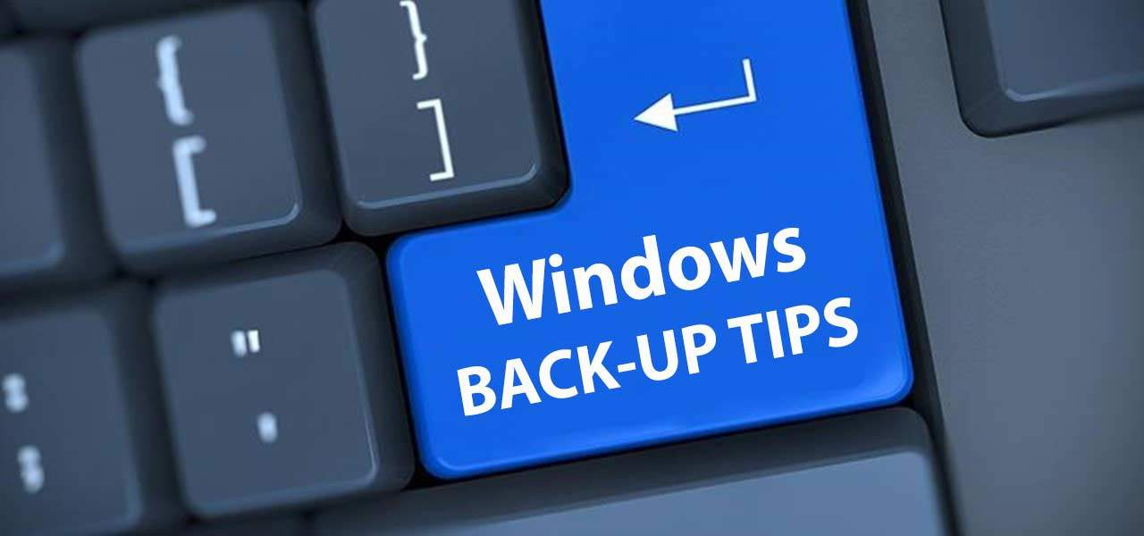 tips windows backup