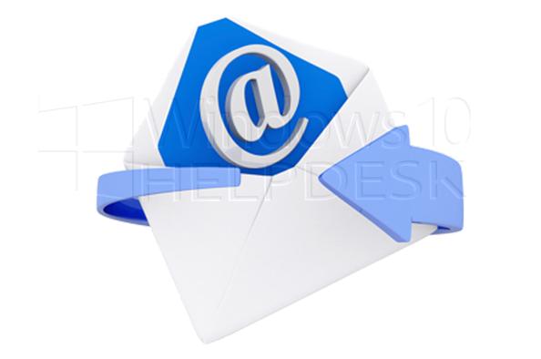 email overzetten naar een andere computer