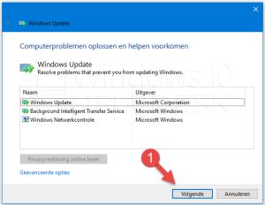 update problemen windows