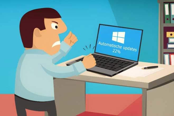 Windows 10 updates uitzetten
