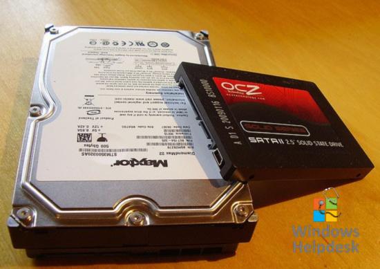 Voordeel SSD harde schijf