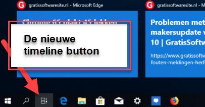 tijdlijn in Windows