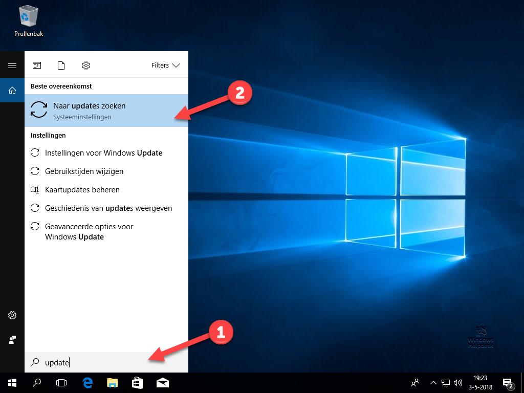 Windows 10 update downloaden