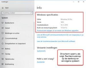 Welke Windows versie